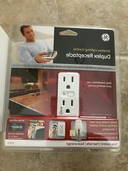 GE Z-Wave Wireless Smart Lighting Control, Duplex Receptacle